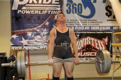 Yosh pulling 480 at 165 lbs