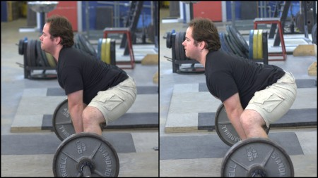The left is how it SHOULD look. The right is how it probably looks when you first try sumo.
