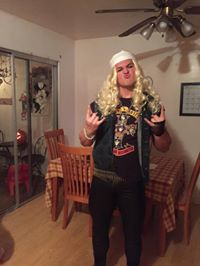 Clay as Duff McKagan