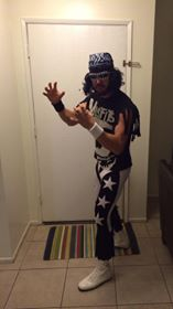 Matt as Macho Man